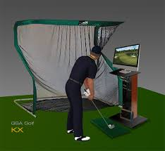 the kx can be used with a projector and impact screen for use as a golf simulator