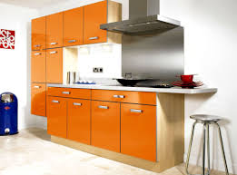 Orange And White Kitchen Kitchen Decorating Theme Ideas Modern Orange Kitchen Theme Ideas