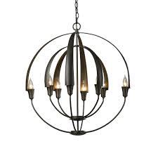 double cirque chandelier