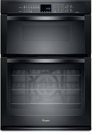 whirlpool stainless steel black wall oven microwave combination combo reviews
