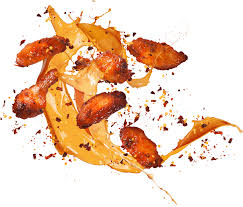 image of our original wings with mango fire