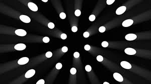 Animation Circles Animation Of Rotating Circles Made Of Spotlights On Black Background