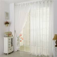 White Patterned Curtains Fascinating Star Patterns White Patterned Sheer Curtains Are Cute