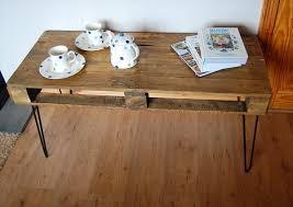 Diy Coffee Table With Hairpin Legs  Coffee Table  Home Furniture Pallet Coffee Table With Hairpin Legs