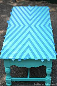 spray painted furniture ideas. Geometric Coffee Table Makeover, Spray Painted Furniture Ideas D