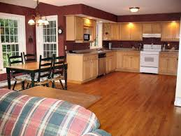 contemporary design kitchen paint colors with oak cabinets medium