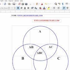3 Circle Venn Diagram Generator 10 Best Free Venn Diagram Maker For Windows