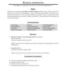 professionally written student resume example resumebaking so areas such as accounting data analysis invoicing data collection and report generation are mentioned we also make note of relevant coursework in