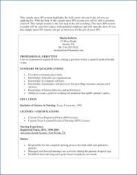 Skills To Use On A Resume Nursing Skills Resume Awesome Nursing ...