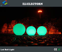 Electron Led Lights Reomote Control Modern Home Decoration Led Glowing Sphere