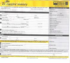 95 Templates Resume Order Western Template Union Receipt For Money Tips