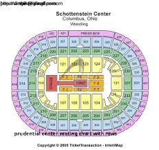 Bok Center Seating Chart Fresh Beautiful Prudential Center