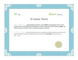 Corporate Certificate Template New Stock Certificate Template Free Corporate Seal Stamp Templates Word