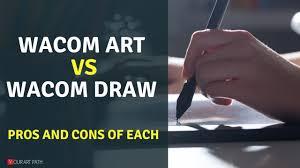 Wacom Intuos Draw Vs Wacom Intuos Art Comparsion Review
