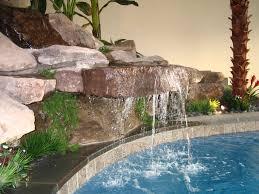 Diy Pool Waterfall Diy Waterfall Fountain Solidaria Garden
