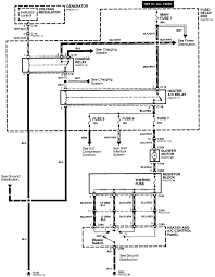 1995 isuzu rodeo 4x4 the heat fuses and relays under the hood here is a wiring diagram