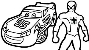 Just click on an image and it will open full size. Mcqueen And Spiderman Coloring Page Free Printable Coloring Pages For Kids