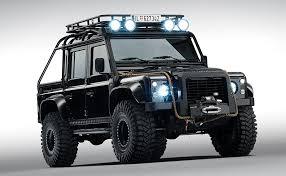 Land Rover \u2013 Spectre 007 Defender  Duane Fernandez