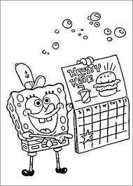 Kleurplaten Spongebob Spongebob Kleurplaat Printen Shshiinfo