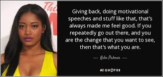 TOP 40 QUOTES BY KEKE PALMER Of 40 AZ Quotes Enchanting August Alsina Quote About Street Life In Picture