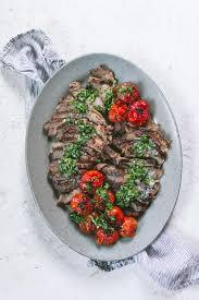 rib eye steak cooked in the oven keto