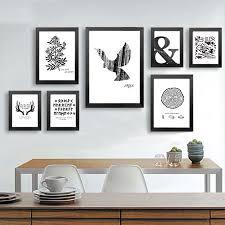 exclusive design picture wall art layout minimalist canvas print poster animale pattern decorazione della parete bar