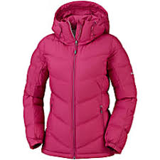 Columbia W Pike Lake Hooded Jacket Pomegranate Fast And
