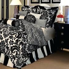 damask duvet cover black and white damask duvet cover queen