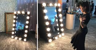 we give you the option to either purchase a partly finished mirror photo booth and you can complete it yourself or it turn key the choice is yours
