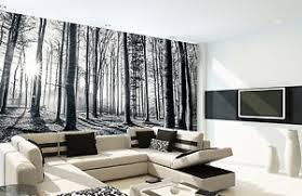 wallpaper for office wall. Image Is Loading Wall-mural-giant-size-Black-amp-white-forest- Wallpaper For Office Wall L