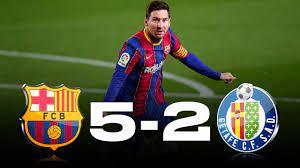 Fubotv (watch for free) celta vigo can be a very tricky team for barca and being a home game. Barcelona Vs Getafe 5 2 La Liga 2021 Match Review Youtube