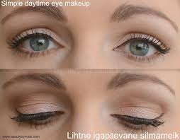 simple dayitme eye makeup via beautybymissl