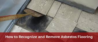 asbestos floor tiles how to identify
