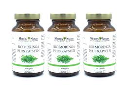 Bio Moringa 500mg 3x 90 Kapseln Set Vegan Glutenfrei