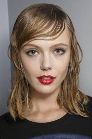 Wet Look Hair Style hair trend from fashion month super soaked strands hair trend 8619 by wearticles.com
