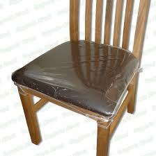 dining chair seat covers. Strong Dining Chair Protectors Clear Plastic Cushion Seat Covers Protection   EBay I
