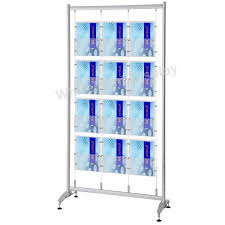 Free Standing Literature Display Impressive Freestanding Cable Suspended A32 Literature Display White Light Display