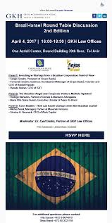 post navigation published inbrazil israel round table discussion