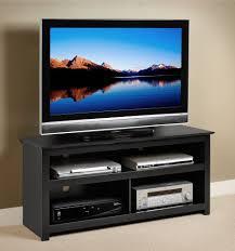 Lcd Tv Furniture Amazoncom Black Vasari Flat Panel Plasma Lcd Tv Console