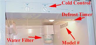 refrigerator defrost cycle diagnostics wp ref defrost timer 1 jpg 44941 bytes