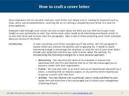 Crafting A Cover Letter Crafting A Cover Letter Under Fontanacountryinn Com