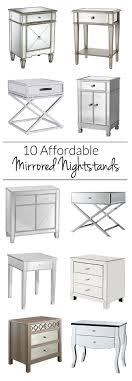 Mirror Furniture Best 20 Mirrored Nightstand Ideas On Pinterest Mirror Furniture