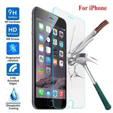 DS LOVEHUI 9H tempered <b>glass For iphone</b> X 8 4s 5 <b>5s</b> 5c SE 6 6s ...