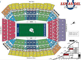 Beef And Boards Seating Chart Boudd Lucas Oil Stadium Seating Chart
