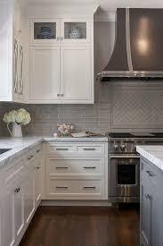 Interior Design Ideas (Home Bunch   An Interior Design U0026 Luxury Homes  Blog). White Cabinet KitchenBacksplash Kitchen White CabinetsBacksplashes  ...