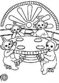 Small Picture Picture of the Teletubbies Coloring Page Color Luna