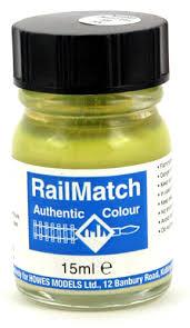 Railmatch Paints Colour Chart Railmatch 302 Lower Bodyside Green Enamel Paint 15ml