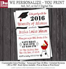 x gradu superb 4 6 graduation party invitations
