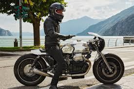 modifikasi moto guzzi cafe racer