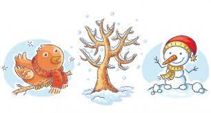 Kreslena zima Stock vektory, Royalty Free Kreslena zima Ilustrace |  Depositphotos®